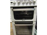 Hotpoint Ultima Hug52 gas cooker, excellent condition