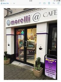 Ice cream parlour/cafe/sandwich bar business for sale...Garvagh Main Street