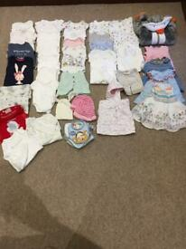 New born girls baby bundle