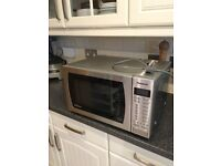 Panasonic 900w Microwave Oven with weight sensor and inverter ST479S Stainless Steel