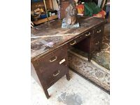 Old desk in good condition 1940s