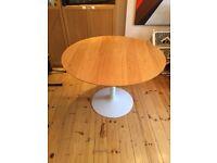 Habitat Round Lance Table-Oak
