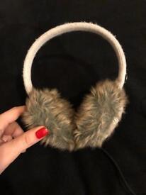 KitSound Cable Knit Audio Earmuff Headphones