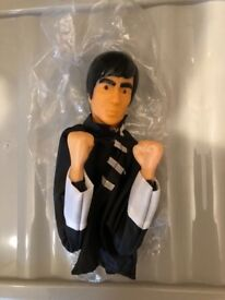 Vintage Bruce lee punching puppet