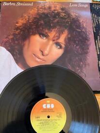 Vinyl job lot Barbra Streisand and others
