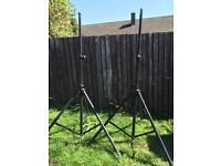 GOOD STRONG PA SPEAKER STANDS