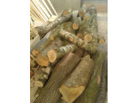 Logs for Firewood/Woodburner - Cedar/Birch/Willow