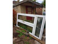 Upvc double doors for sale.