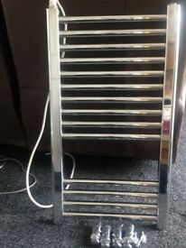 Chrome Low Wattage Towel Rail