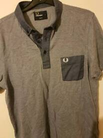 Fred perry top size L