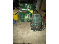 Bosch AQT 37-13 High Pressure Washer Combi Kit, Jet wash.