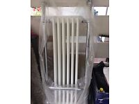 Wickes Etiquette Traditional Panel Chrome/White 1510 x 510mm Radiator- new
