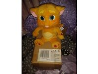 talking ginger soft toy brand new