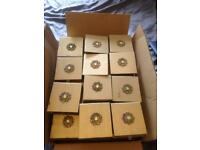 Bronze wedding or party gift boxes around 50 available
