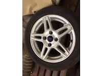 Ford Fiesta 15 inch alloy wheel x1