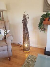 Twig floor lamp