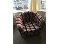 2 Seater Sofa and Bucket Chair - Great Condition