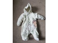 Newborn (up to 10lbs) warm all in one suit