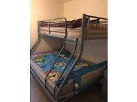 Bunk Bed - Single top Double Bottom