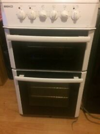 Beko electric Cooker with fan oven and grill