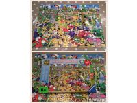 Childs jigsaw puzzles