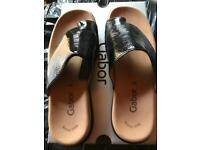Size 6 women's Gabor summer shoes