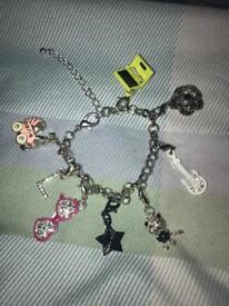 Girls charm bracelet. The letter L. Xmas present