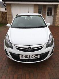 Vauxhall Corsa 1.2 SE 5 Door, White 2014 (64)