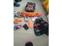 Nerf gun bundle.