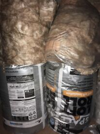 Knauf loft insulation 100mm & 170mm thickness