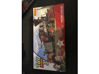 Electrical toy story train set