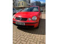 RED 2002 VW POLO 1.2 PETROL **BREAKING**
