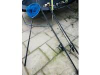 Complete carp fishing set