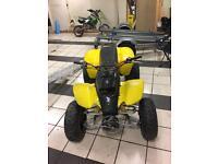 SMC RAM QUADZILLA 250cc QUAD RWD ATV CHAIN DRIVEN NOT 4x4 jeep yz cr crf kx swap px why 125