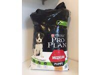 Purina Pro Plan Opti Start Medium Puppy Dog Food Kibble 12kg Bag - New / Sealed
