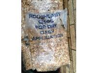 Rough casting stones x32 bags