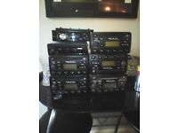 VARIOUS FORD P6000 CAR RADIO CD PLAYERS WITH CODES