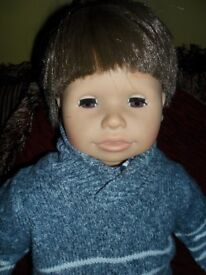 large boy doll zaph creation in excellent condition