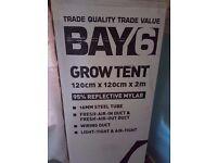 Bay 6 grow tent
