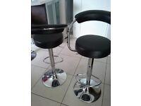 Black bar stools - free to a good home