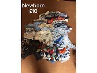 Baby boy clothes bundles: various sizes
