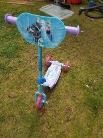 Frozen Princess childrens scooter