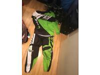 2016 fly motocross kit green