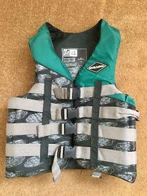 Large size SeaDoo buoyancy aid life jacket.