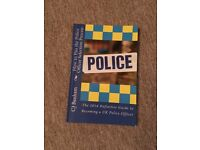 police officer selection process book