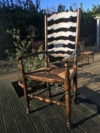 Titchmarsh and Goodwin, Vintage, Solid Oak, Carver Chair