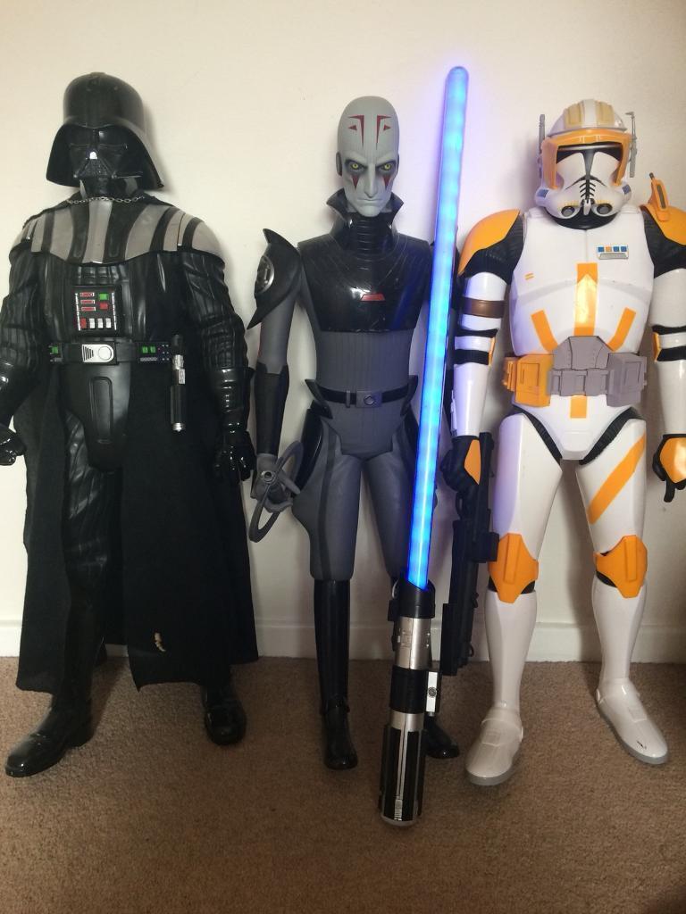 Star Wars figures NOW SOLD