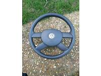 Mk5 golf steering wheel and airbag possibly fit touran