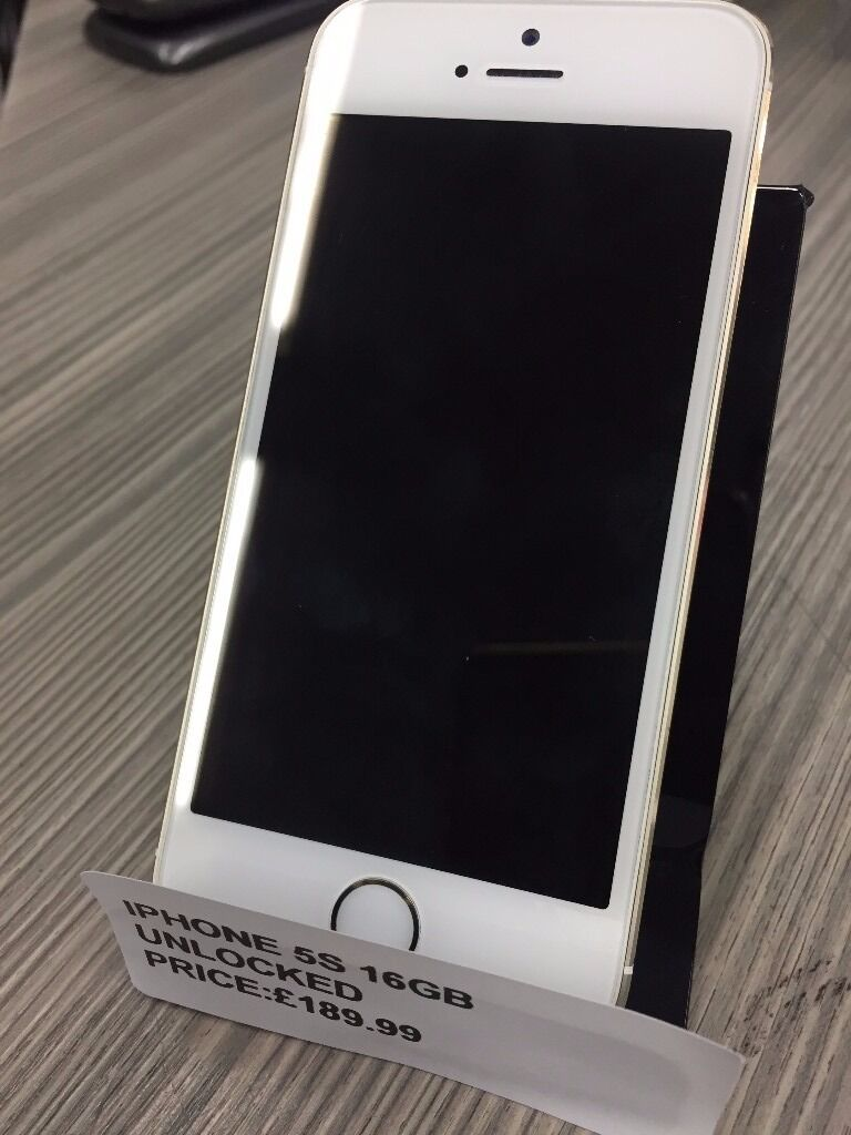 SUPER CHEAP DEAL APPLE IPHONE 5s GOLD 16GB UNLOCKED WITH WARRANTYin Notting Hill, LondonGumtree - SUPER CHEAP DEAL APPLE IPHONE 5s GOLD 16GB UNLOCKED COMES WITH TEMPERED GLASS SCREEN PROTECTOR AND SHOCK PROOF CASE FEEL AT EASE BUYING FROM OUR STORE EVERY THING THAT COMES FROM US HAS WARRANTY AND ALL ITEM WE SELL HAVE FULL CHECKMEND RECORDS. YOU...