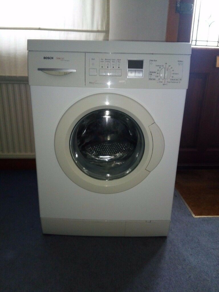 Washing Machine Bosch Exxcel 1200 Express Maxx Freedom Performance